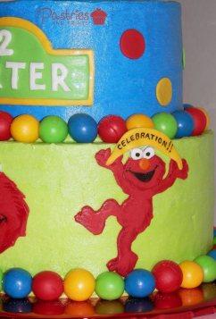 Kids Cakes - Elmo Cake