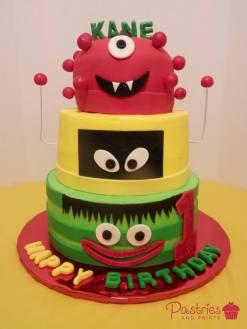 Kids Cakes - Monster Cake