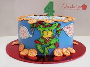 Kids Cakes - Ninja Turtles Cake