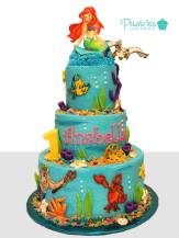 Kids Cakes - Disney's Little Mermaid Cake