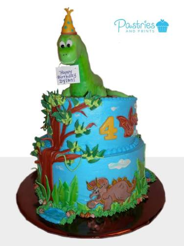 Kid's Cakes - Dinosaur Cake