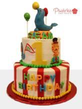 Kids Cakes - Circus Cake