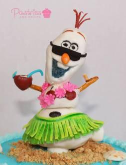 Kids Cakes - Disney's Frozen Cake
