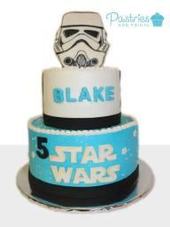 Kids Cakes - Disney's Star Wars Cake