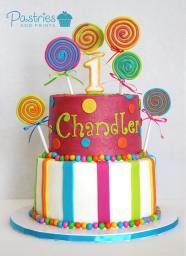 Kids Cakes - Lolly Pop Cake