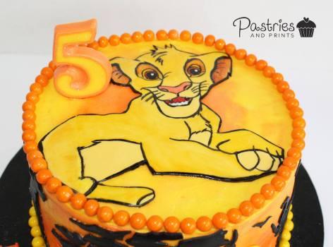 Kids Cakes - Disney's Lion King Cake